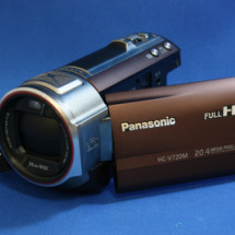 Panasonic HC-V720 故障品 映像データ取り出し