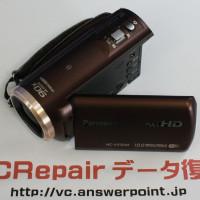 HC-V550 海水に水没したビデオカメラ復活
