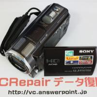 HDR-CX560V 水没ハンディカム映像取り出し