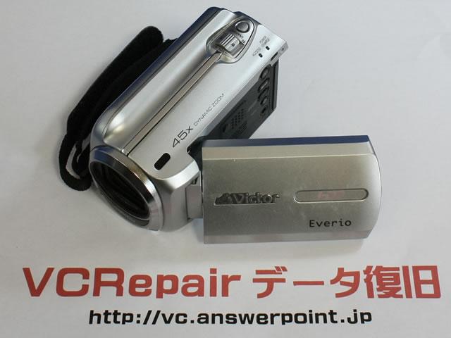 GZ-MG760 HDDエラー データ復旧
