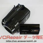 GZ-HD5 故障したビデオカメラのデータ復旧