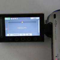 HDDエラーと液晶に表示 GZ-MG760