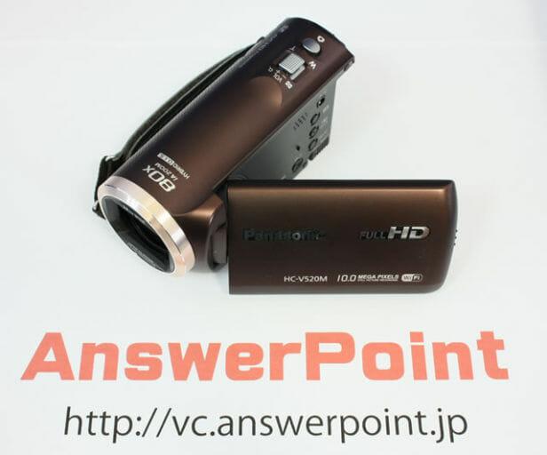HC-V520 水没故障ビデオカメラデータ復旧