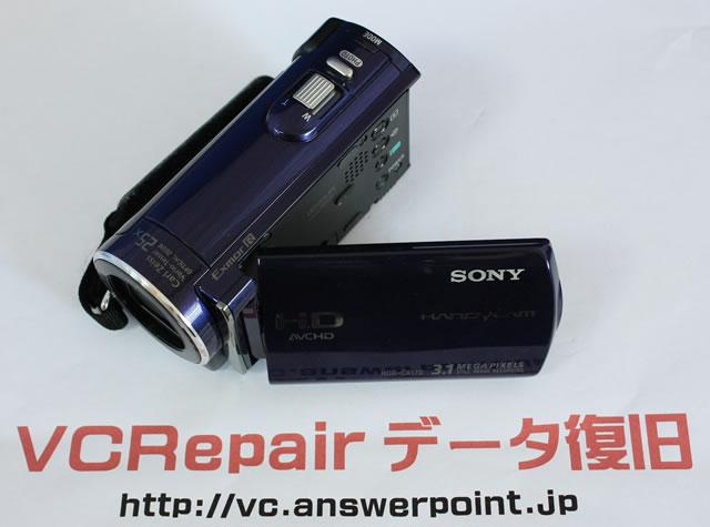 HDR-CX170 削除データ復元