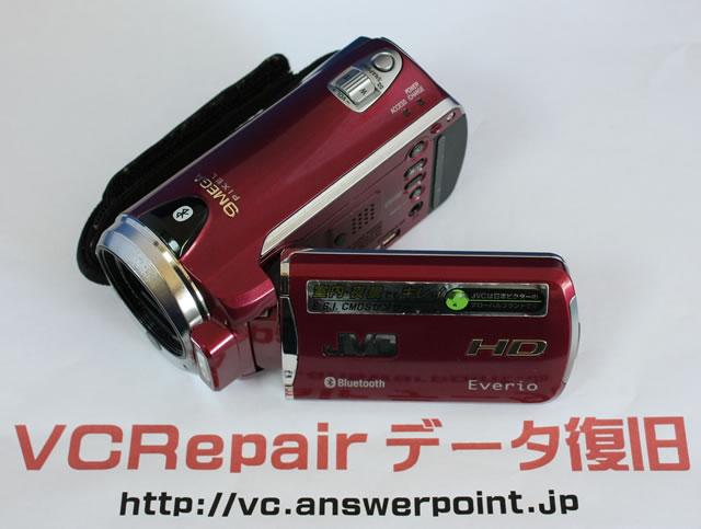 GZ-HM570故障ビデオカメラデータ復旧