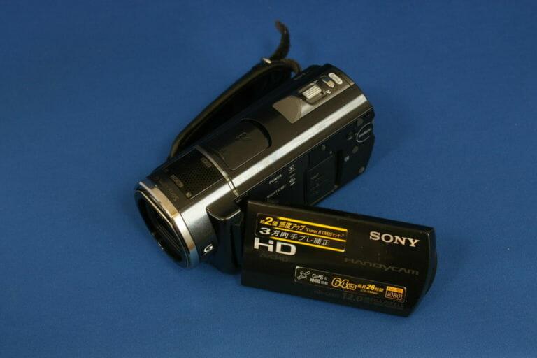 HDR-CX520V 水没品データ復旧