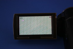 HDR-PJ590 画像の乱れ