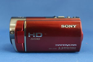 故障 ソニー ハンディカム HDR-CX180V データ復旧