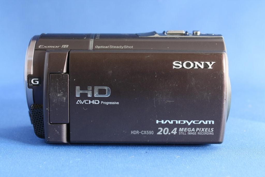HDR-CX590 故障